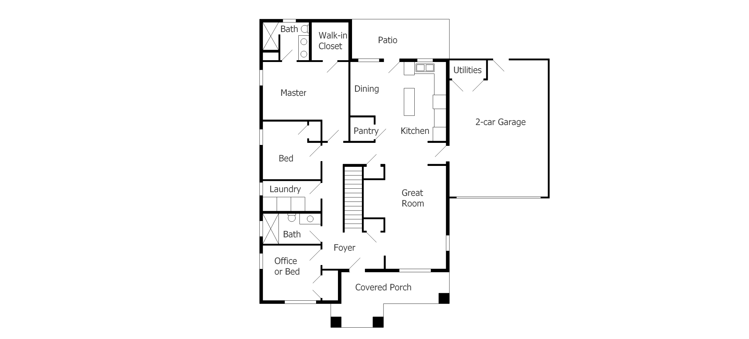 Ground Floor Plan Fros Carpentry