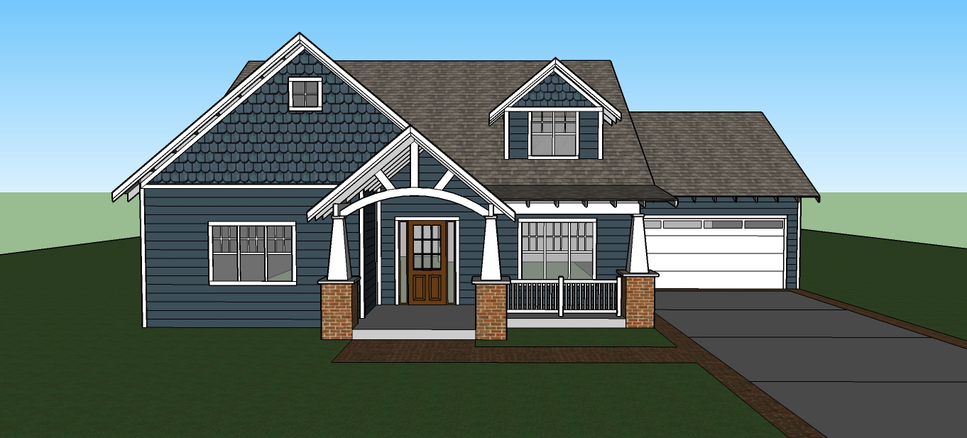 A Modern Craftsman Bungalow Fros Carpentry