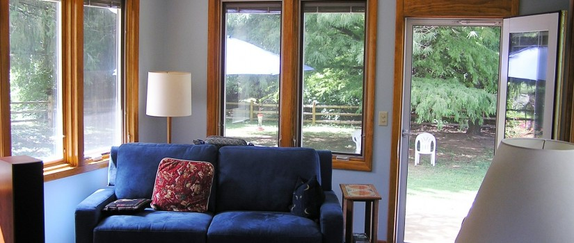 Sunroom - interior view