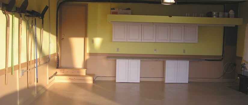 After: the remodeled garage
